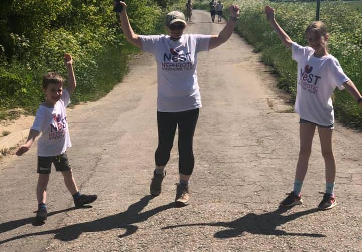 Congratulations to Becky Catchpole completing Lands End to John O'Groats walk!