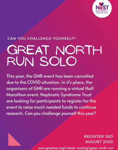 'Virtual Great North Run 2020' and 40th Great North Run 2021