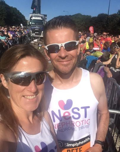 Congratulations to Emma & Peter Morris on completing the Great North Run!